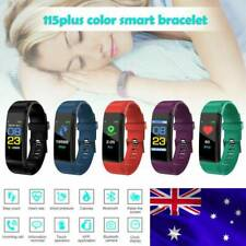 New Smart Watch Sport Activity Heart Rate Tracker Fitbit Android iOS For Men kid