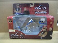 NHL OCC Chopper, Die Cast Motorcycle, Vancouver Canucks, MIB, New, 1:18