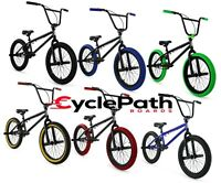 "Elite BMX 20"" Bike Stealth Freestyle Black, Green, Blue, Red, Gum or White NEW 2"
