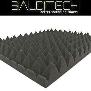 Pannello Fonoassorbente Piramidale 100x100 cm - Pacco da 10
