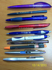 50 Promotional Pens, Few Duplicates
