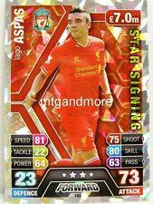 Match Attax 2013/14 Premier League - #162 Iago Aspas - Star Signing