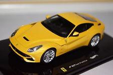 Ferrari F12 gelb 1:43 Hot Wheels neu & OVP