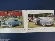 1953 Chrysler Full Line Sales Brochure C7216