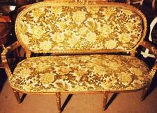 GOLD SOFA COUCH SITZ LIEGE MÖBEL Barock Rokoko Louis seize XV XVI Empire antik