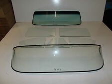 1953 1954 PONTIAC COUPE SPECIAL COMPLETE GLASS SET CLEAR
