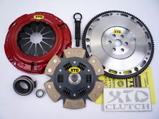 XTD STAGE 3 CLUTCH & 10LBS FLYWHEEL KIT 89 90 91 CIVIC CRX D15 D16 CABLE SOHC