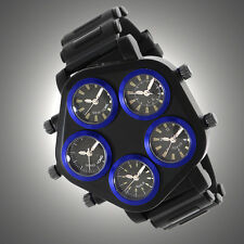 Geneva Giant Revolver Watch [SOPHISTICATED] *MSRP~$345*