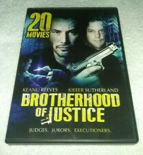 20 Movies: Brotherhood of Justice and others (DVD Disc Set)