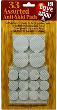 33 Anti Skid Pads Self Adhesive Furniture Scratch Protector Wood Floor Anti Slip
