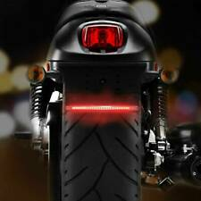 Motorcycle Flexible 48 LED Light Strips Brake Tail Light Turn Signal UNIVERSAL