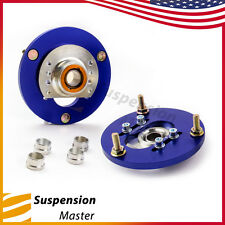Coilover Camber Plates Caster Fits BMW E46 320 323 325 328 M3 Front Top Mounts