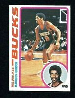 NMT 1978 Topps Basketball #126 Marques Johnson RC.