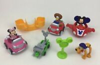Mickey Mouse Clubhouse Toy Figure Disney Fisher Price Lot 10pc Car Racers Toys
