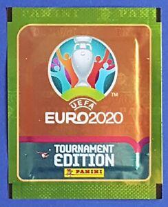 Panini UEFA EURO 2020 Tournament Edition Orange DE Lidl Grün Tüte / Packet