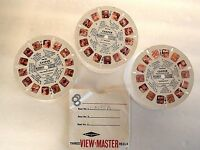 Casper 3 Viewmaster Reels 1961 Vintage GAF B 5331 5332 5333