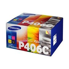Samsung P406C Value Pack Toner Set for CLP-365W,CLX-3305FW,SL-C410W, SL-C460FW