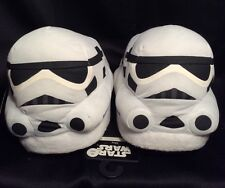 NWT Young Men's Star Wars Slippers M 8/9 STORM TROOPER Disney Bed Shoes NEW $40