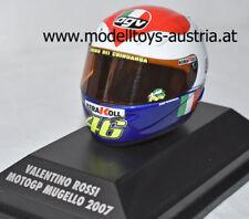 Helm AGV Valentino ROSSI 2007 Moto GP MUGELLO 1:8 Minichamps
