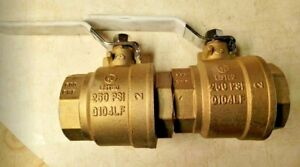 "Apollo 94Alf-108-01A 2""  Brass Ball Valve Inline 🔥🔥🔥FREE SHIPPING🔥🔥🔥"