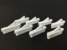 NEW SET of 8 WHITE WINDOW SASH VENT STOPS by ASHLAND HARDWARE