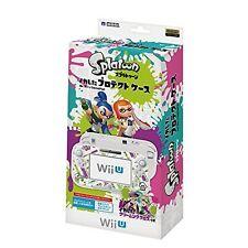 NEW HORI SPLATOON PROTECTOR CASE COVER FOR NINTENDO Wii U GAMEPAD