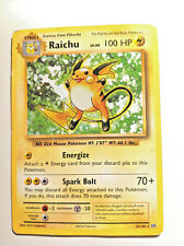 Raichu Holo Foil Pokemon TCG Card Evolutions 36//108 1999 Light Play