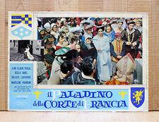 IL PALADINO DELLA CORTE DI FRANCIA fotobusta poster affiche La salamandre d'or