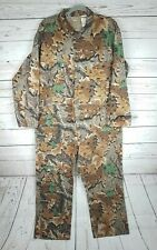 Walls Camouflage Coveralls VTG Moss Camo Hunting Overalls Men's 2XL Chest 50-52