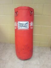 Vintage 1980-84 L. A. Olympicx Everlast Heavy Punching Bag # 1450