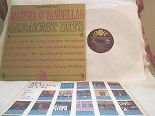 MARTHA & VANDELLAS Greatest Hits ORG ' 66 STEREO! CLASSIC R&B/SOUL VG++/EX