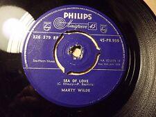 Marty Wilde......Sea Of Love........45rpm ...60s Pop..