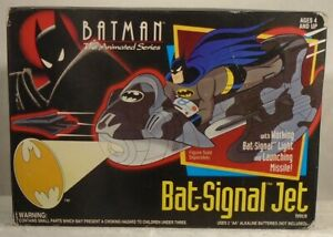 Batman The Animated Series - Bat-Signal Jet Launching Missile By Kenner (MISB)