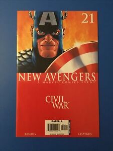 The New Avengers #21 August 2006 Marvel Comics. Civil War.