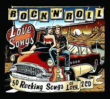 Rock n Roll Love Songs: 50 Rockin' Songs Of Love Factory Sealed CD