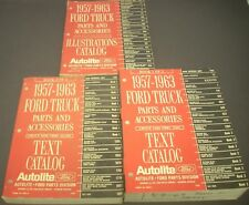 1957 1958 1959 1960 1961 1962 1963 Ford F 100 250 350 Truck Parts Book Catalog