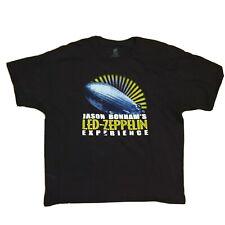 Jason Bonham's Led Zeppelin Experience T-Shirt Tour 2015 East Coast 2-Sided Xxl