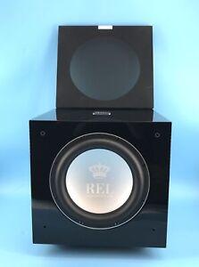 REL Acoustics S/812 Subwoofer Airship Wireless Compatible Black #U1457