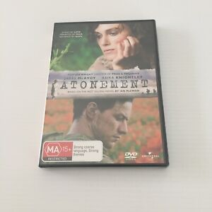 Atonement DVD New & Sealed FREE TRACKED POSTAGE