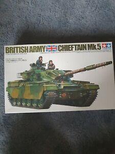 British Army Chieftain Tank Tamiya