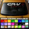"HONDA CRV CR-V Windshield Banner Vinyl Long Lasting Premium Decal Sticker 30""x5"""