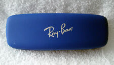 Ray Ban bright blue hard case EyeGlass Sunglass