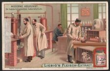 1900 Modern Biological Medical Science Animal Laboratory c1903 Ad Trade Card