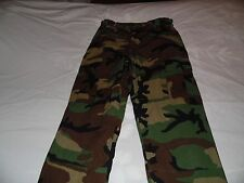 USMC Woodland Camouflage Pants Size Medium Short