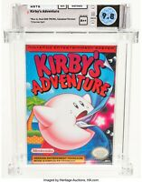 WATA 9.8 A++ SEALED Kirby's Adventure Canadian (Nintendo Entertainment System)