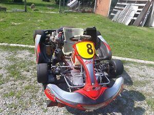 Vente Karting 125 À Boîte Moteur Refait 6 Heures De Service Châssis Sodikart