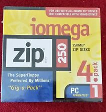 Iomega Zip 250 Mb Disks (4-Pack)