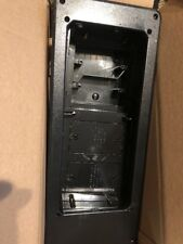 Arlington TVB613BL-1 Recessed TV Outlet Box with Paintable Trim Plate, Black,