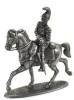 Figure Soldier Napoleonic War Austerlitz 1805 metal Saxon Cuirassier 1/32 Atlas