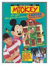 JOURNAL DE MICKEY 2176   BE+  avec  fiches avec 1 carte genealogie